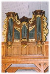 Die restaurierte Orgel