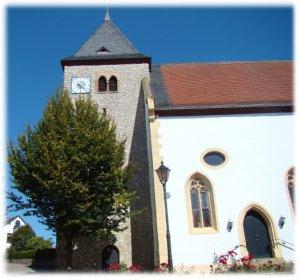 Die Hangen-Weisheimer  Kirche