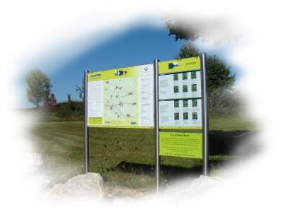 Nordic-Walking-Tafel in Hangen-Weisheim